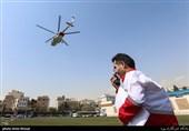 انتقال و تحویل مصدومان تصادف 2 ون در مرز مهران به اورژانس/ مصدومیت بیش از 20 نفر