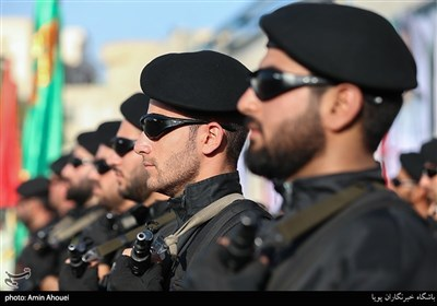 صبحگاه عمومی نیروی انتظامی