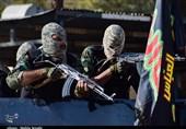 مانور اقتدار نیروهای یگان ویژه استان کرمان به روایت تصویر