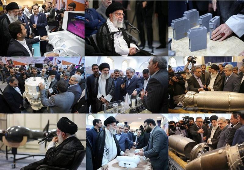 بازدید امام خامنه ای از نمایشگاه شرکتهای دانشبنیان وفناوریهای برتر
