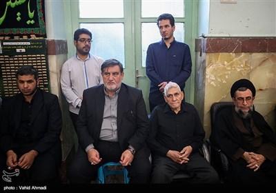 اسماعیل نجار در مراسم ختم پدر سردار سعید قاسمی