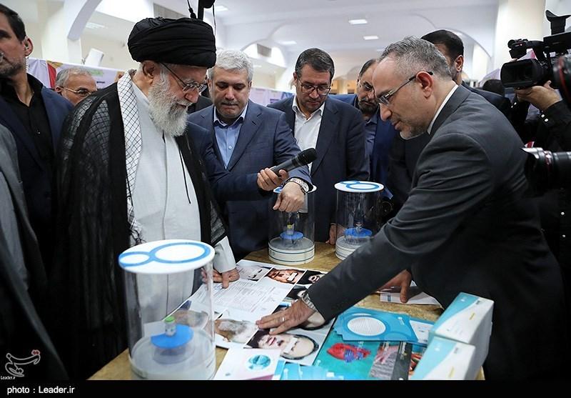 Ayatollah Khamenei Pledges Support for Iranian Knowledge-Based Firms
