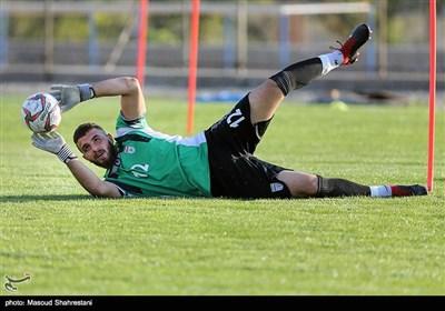 اولین تمرین تیم ملی فوتبال امید به سرمربیگری حمید استیلی