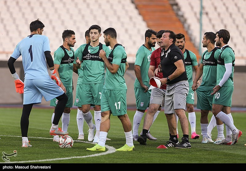 23 بازیکن برای دیدار با عراق به اردوی تیم ملی فوتبال دعوت شدند