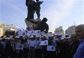 تجمع اسیران آزاده لبنانی در مرکز بیروت/ محکومیت دخالت آمریکا در پرونده «قصاب الخیام»