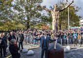 ابراهیموویچ در مراسم رونمایی از مجسمهاش: حالا با وجود 2 زلاتان دنیا جای خطرناکتری است!