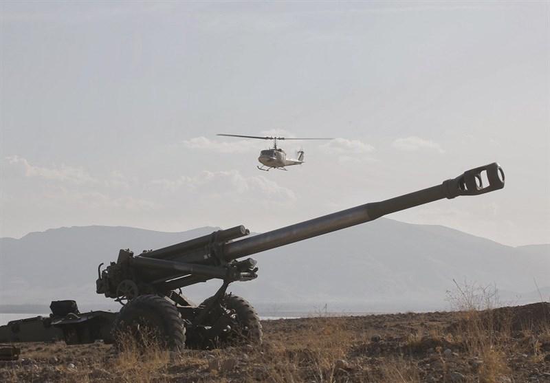 آغاز رزمایش نیروی زمینی ارتش در شمال غرب کشور / هجوم یگانهای واکنش سریع ارتش با بالگردهای هوانیروز + تصویر