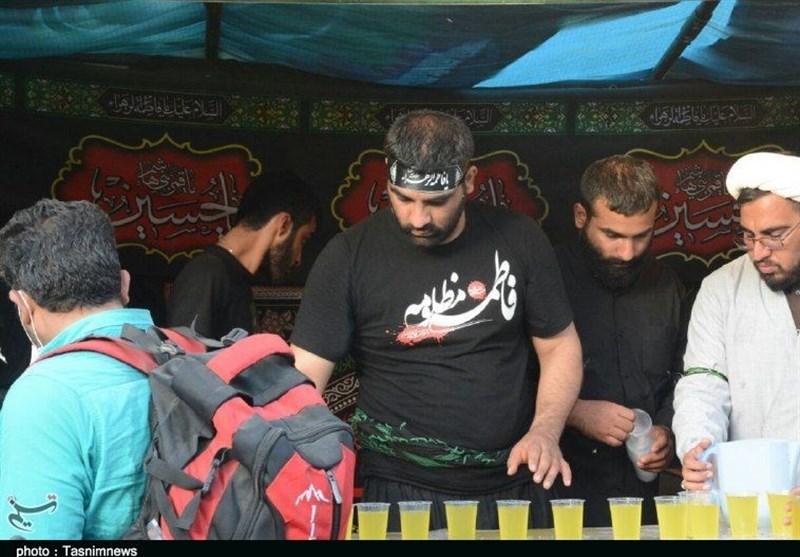 اخبار اربعین 98| موکب اربعین شهرستان لنگرود در نجف اشرف برپا شد