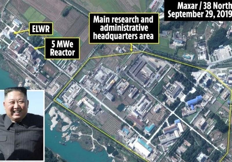 تداوم ساخت و ساز در سایت هستهای کره شمالی+تصاویر