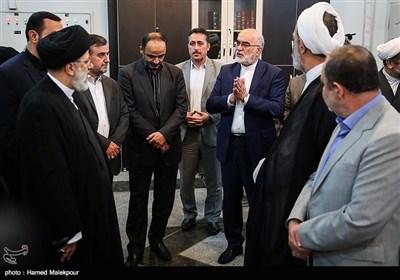 حضور حجتالاسلام سیدابراهیم رئیسی رئیس قوه قضائیه در سازمان بازرسی کل کشور