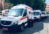 اخبار اربعین 98| تیمهای امدادی اورژانس بوشهر به مرز شلمچه اعزام شد