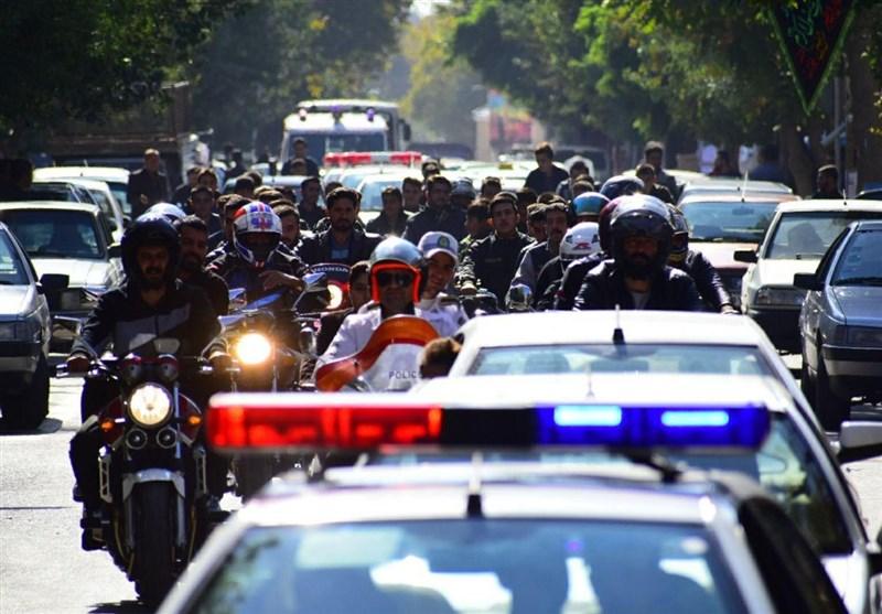 رژه موتورسواران قانونمند در کرمان برگزار شد
