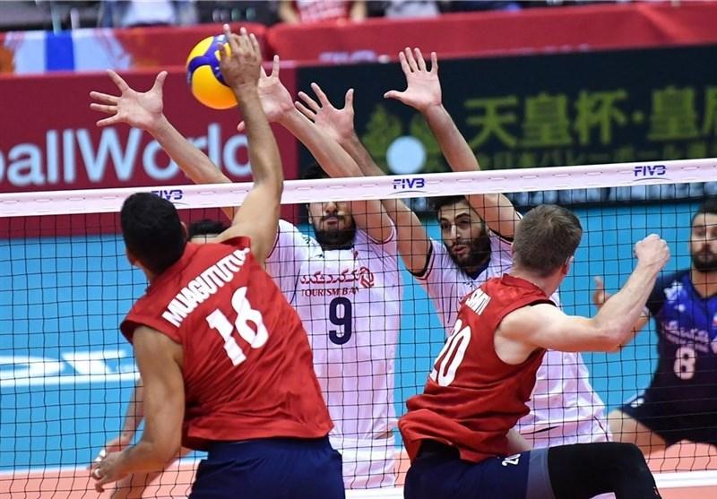 جام جهانی والیبال| شکست سنگین ایران مقابل آمریکا/ اشتباهات کولاکوویچ و شاگردانش همچنان ادامه دارد