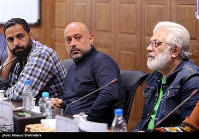 احمد معظمی در نشست خبری عوامل سریال ترور خاموش