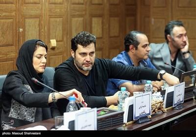 امیر محمد زند در نشست خبری عوامل سریال ترور خاموش