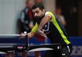 تنیس روی میز تور جهانی آلمان| حذف نوشاد عالمیان با شکست مقابل نماینده میزبان