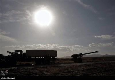 رزمایش نیروی زمینی در شمال غرب کشور