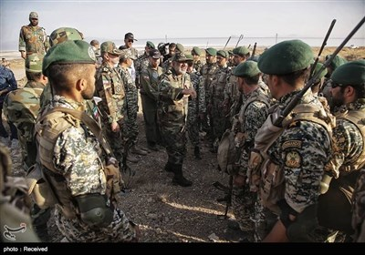 Army Holds War Game in Northwest Iran
