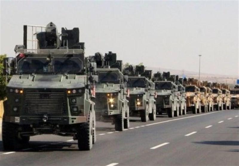 ورود نیروی زمینی ترکیه به خاک سوریه