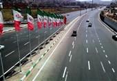 تردد 8 میلیون و 700 هزار خودرو در محورهای مواصلاتی استان همدان