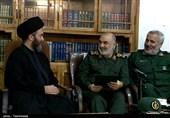 دیدار امام جمعه اردبیل با سرلشکر سلامی / قدردانی از اقدامات محرومیتزدایی سپاه + تصاویر