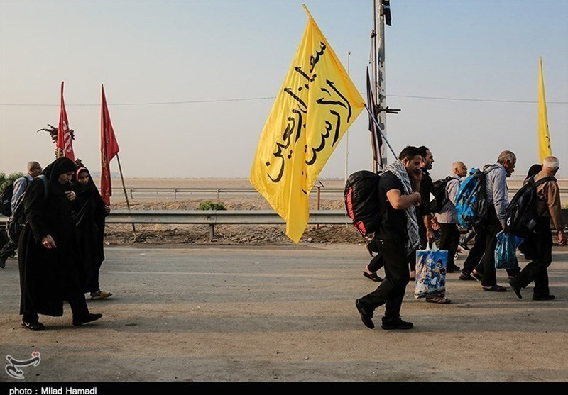 تازهترین اخبار اربعین 98| عبور 133 زائر در هر دقیقه از مرز مهران / رئیس دفتر رئیس جمهور به مرز رفت + تصاویر