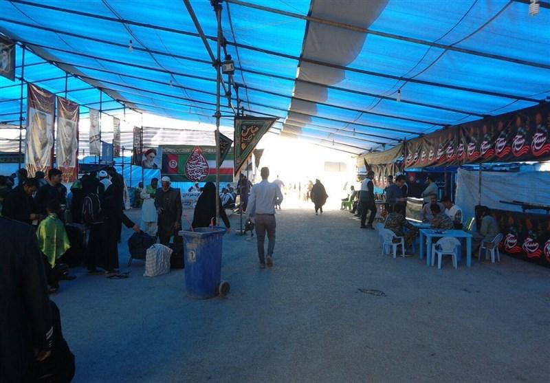 گزارش تسنیم از مرز دوغارون| استقبال ایرانیها از زائران افغانستانی اربعین در مرز دوغارون + فیلم