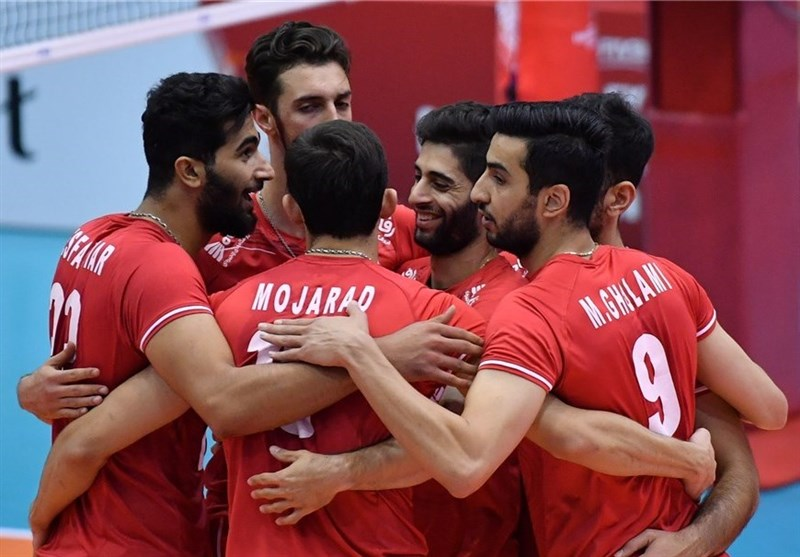 جام جهانی والیبال  برتری راحت ایران مقابل تونس در خوان هفتم