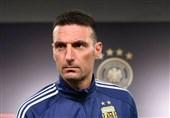 اسکالونی: لیونل مسی را ماه آینده به تیم ملی آرژانتین برمیگردانیم
