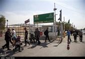 اخبار اربعین 98| مدیریت پلیس در عبور و مرور زائران اربعین از مرز خسروی