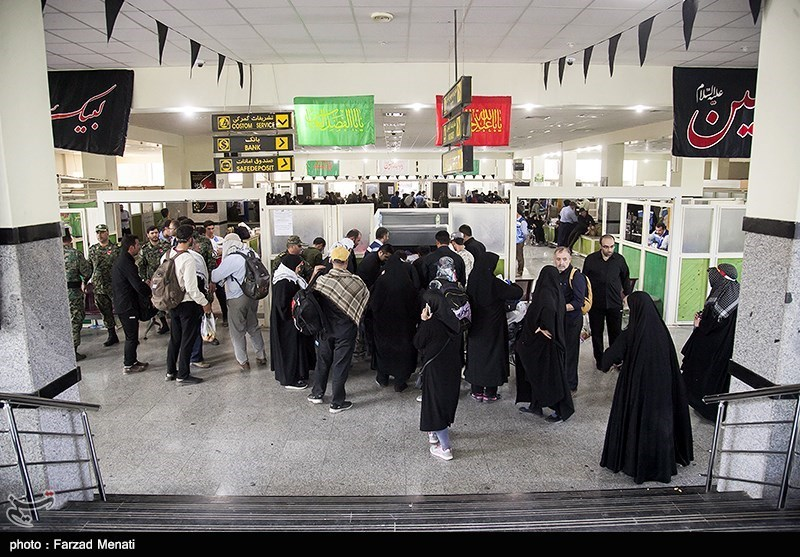 اخبار اربعین 98| بازگشت 7000 زائر اربعین از مرز خسروی طی 24 ساعت گذشته