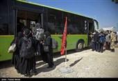 آخرین وضعیت مرز خسروی| 200 اتوبوس در مسیر بغداد به خسروی و منذزیه زائران را جابهجا میکنند