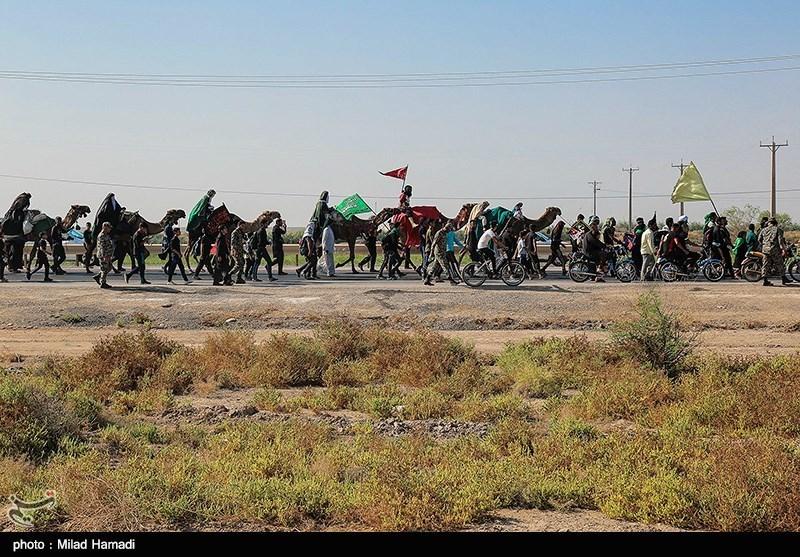 آخرین وضعیت مرز مهران| حضور زائران اربعین در مهران 4 برابر شد / عبور هر دقیقه 133 نفر از مرز