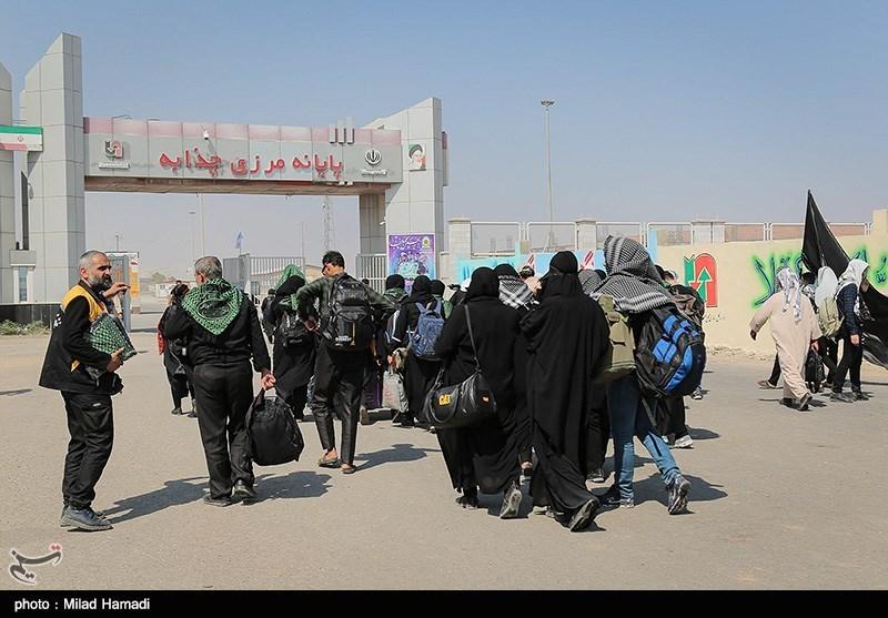 گزارش تسنیم از مرز چذابه| بلاتکلیفی زائران به دلیل کمبود وسایل حملونقل در عراق + فیلم
