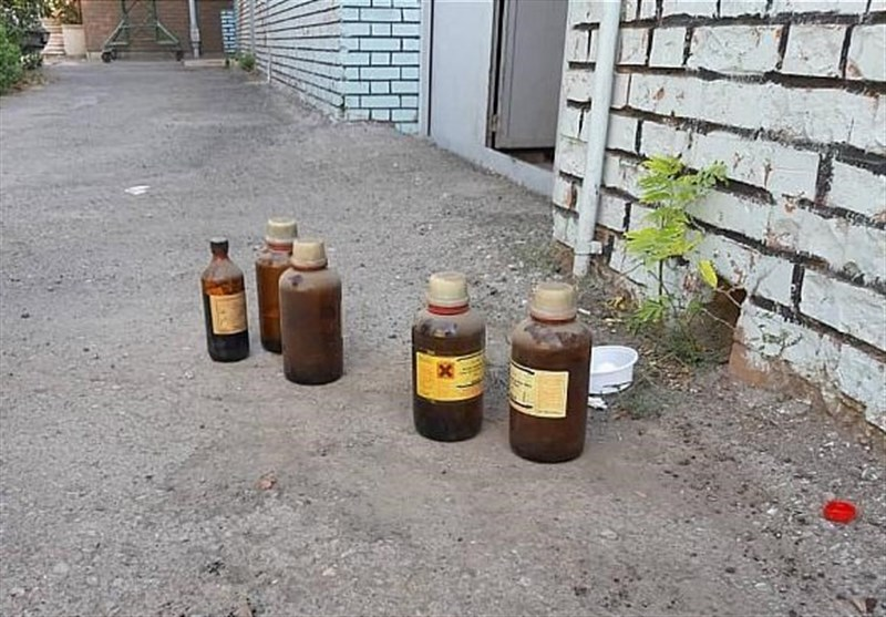 تهران| انتشار گاز آمونیاک در مجموعه آموزشی + تصاویر