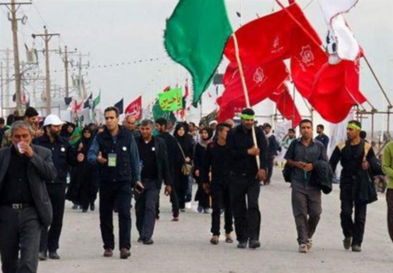 اخبار اربعین 98| حضور پرشور زائران اربعین در مرز مهران + فیلم