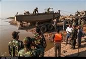 ارتش به یاری مردم شتافت؛ دستور فرمانده کل ارتش برای ساخت پل عنافچه + فیلم