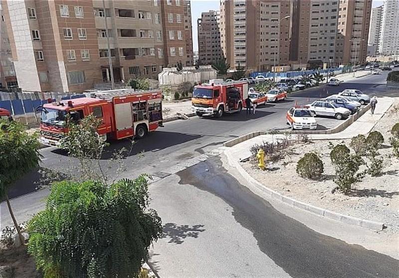 تهران| نجات 30 نفر پس از آتشسوزی در برج 21 طبقه + تصاویر