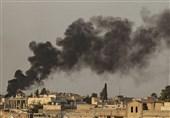 اصابت موشکهای ارتش ترکیه به یک روستا در حومه حلب سوریه