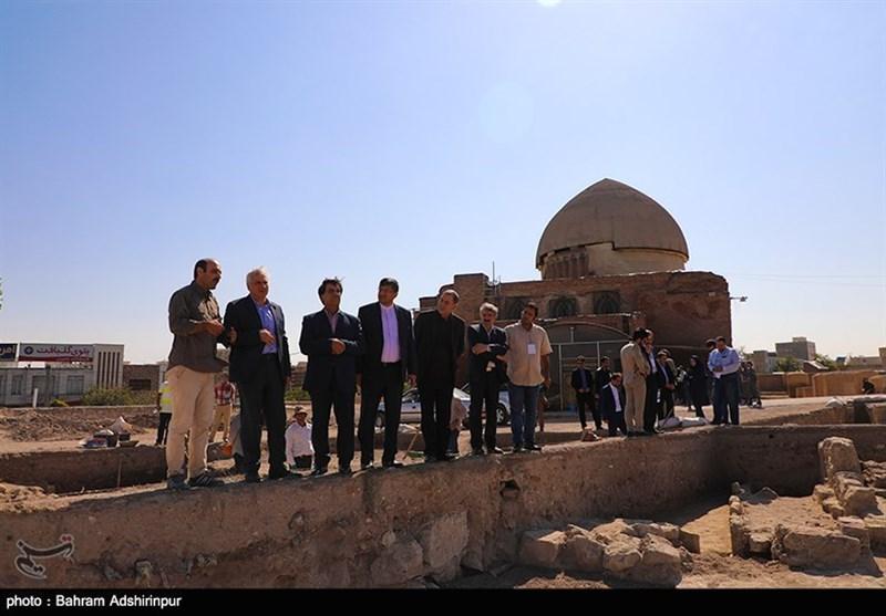 """کشف لایههای جدید از تاریخ در کاوش """"مسجد عتیق"""" /معماری تاریخی ایران عیان شد"""
