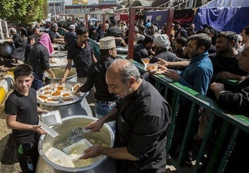 اخبار اربعین 98  421 هزار پرس غذا توسط بوشهریها بین زائران اربعین حسینی توزیع شد