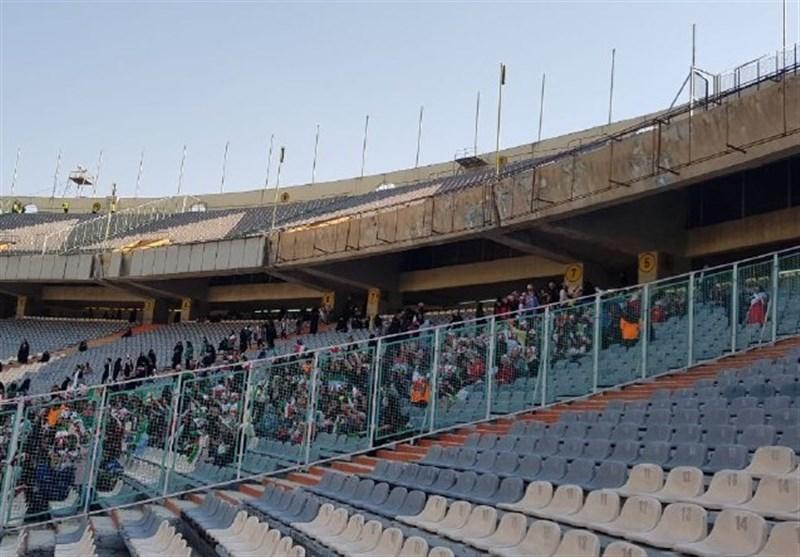 تیم ملی فوتبال ایران , ورزشگاه آزادی ,