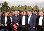 فاز 2 جلوخان آرامگاه فردوسی با حضور وزیر میراث فرهنگی به بهرهبرداری رسید