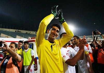 بیرانوند: قهرمان لیگ صددرصد مشخص است/ امیدوارم به پرسپولیس برگردم و بهسراغ قهرمانی آسیا برویم