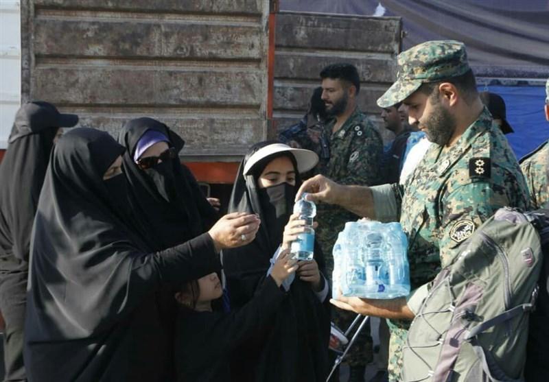 اربعین حسینی| راهپیمایی اربعین , موکب تسنیم , پلیس | ناجا | نیروی انتظامی جمهوری اسلامی ایران ,