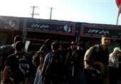 اخبار اربعین 98|برپایی موکب آستان مقدس امامزادگان و بقاع متبرکه گلستان در مرز مهران+تصاویر