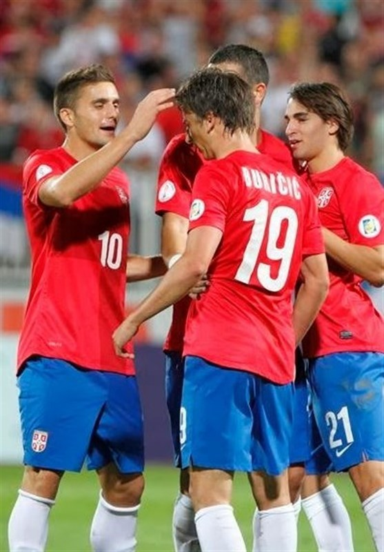 برتری صربستان در بازی دوستانه