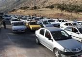 ادامه ترافیک اربعین در جادههای استان کرمانشاه/ تردد 717 هزار وسیله نقلیه در 24 ساعت