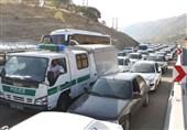 ترافیک سنگین در جاده چالوس/ ترافیک نیمه سنگین در محور مهران-حمیل