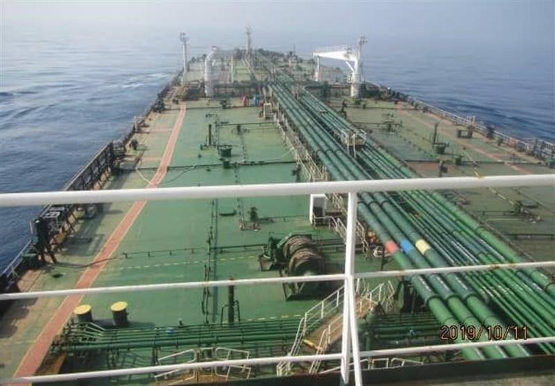 نخستین تصاویر از نفتکش ایرانی پس از حادثه اخیر
